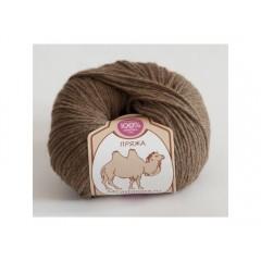Пряжа в мотках по 50 г 100% верблюжий пух, цвет: бежевый
