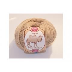 Пряжа в мотках по 50 г 100% верблюжий пух, цвет: кремовый