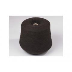 Пряжа в бобинах из 100% пуха яка темно-коричневая