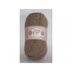 Пряжа в мотках по 100 г 100% верблюжий пух, цвет: бежевый/кремовый