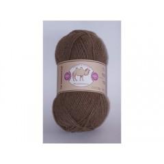 Пряжа в мотках по 100 г 100% верблюжий пух, цвет: бежевый